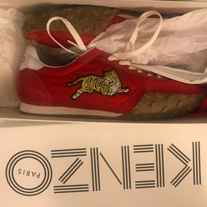 Kenzo Sneakers - Red - UNWORN